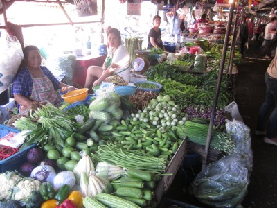 Amazing selection of fruits and vegetables